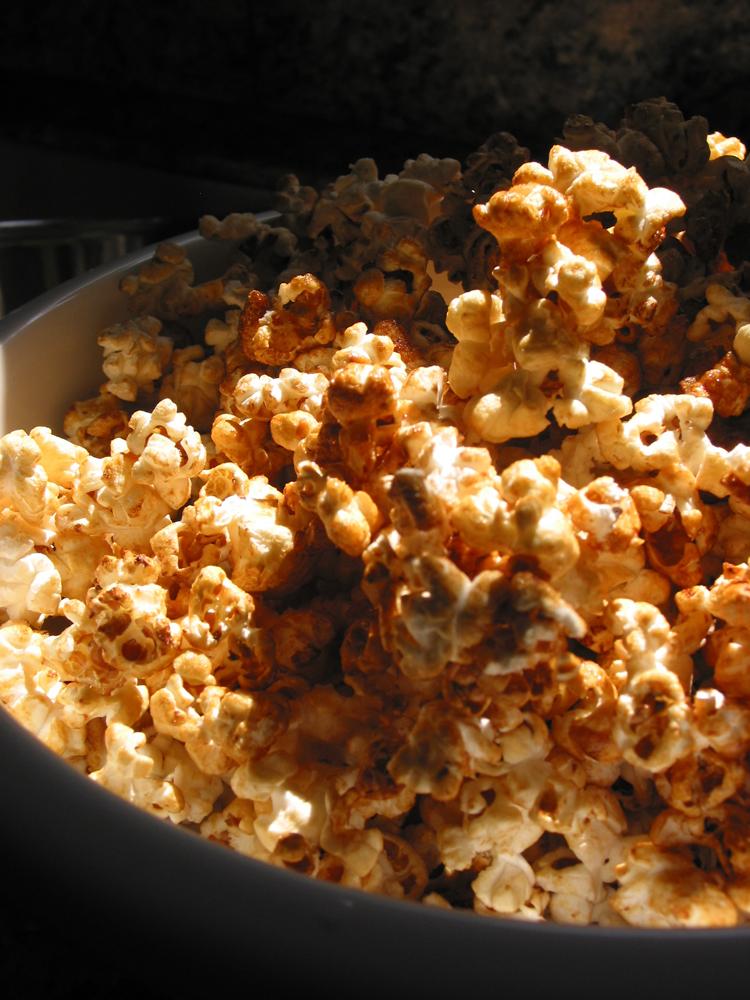 Corn, kettle corn
