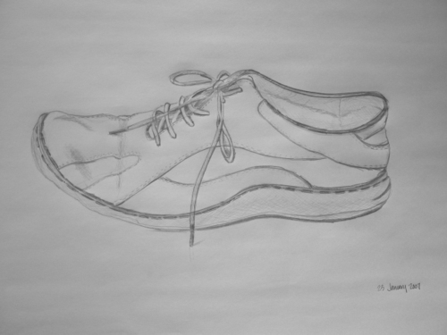 one of three joseph seibel shoes tonight...