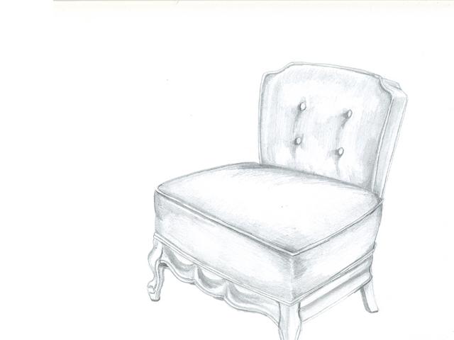 suzy's slipper chair